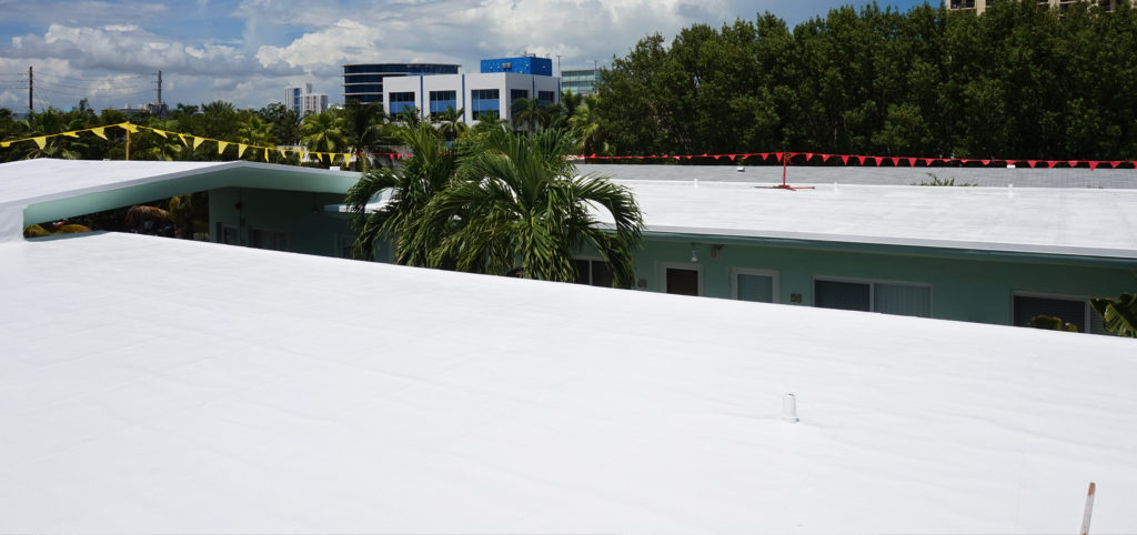 Miami Condominium Silicone Roof Coating 1