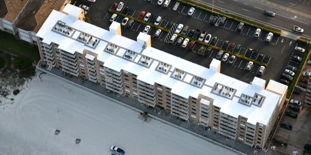 Tampa Bay Condominium Silicone Roof Restoration 15