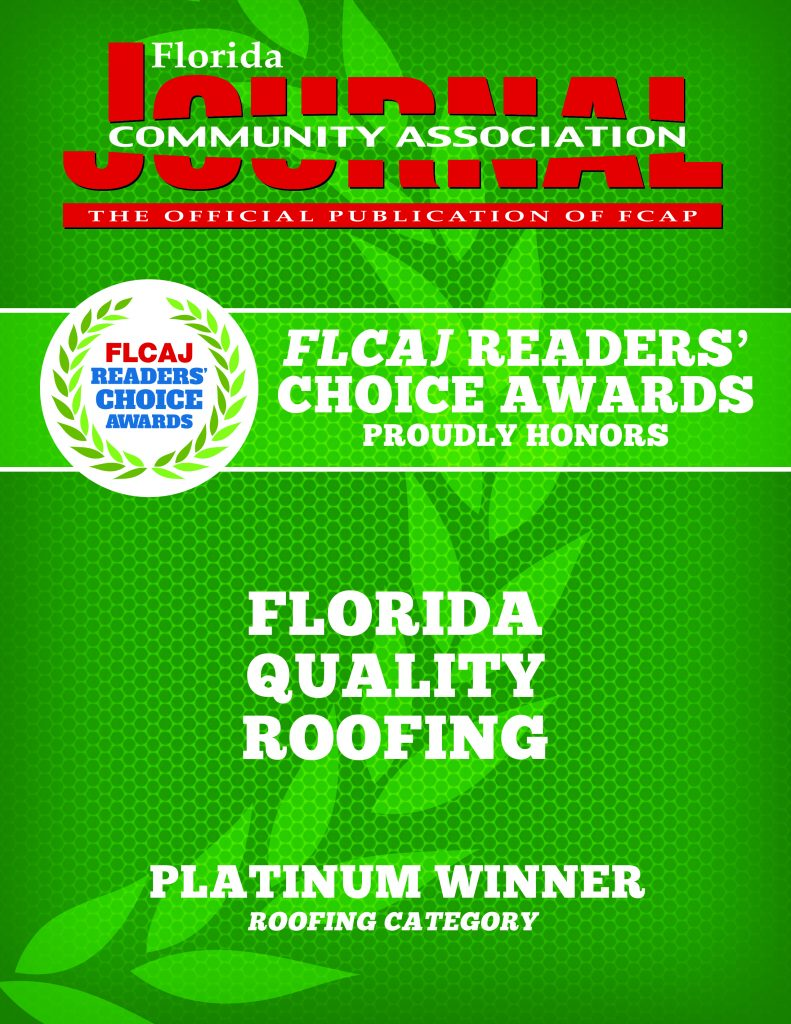 award winning roofing company