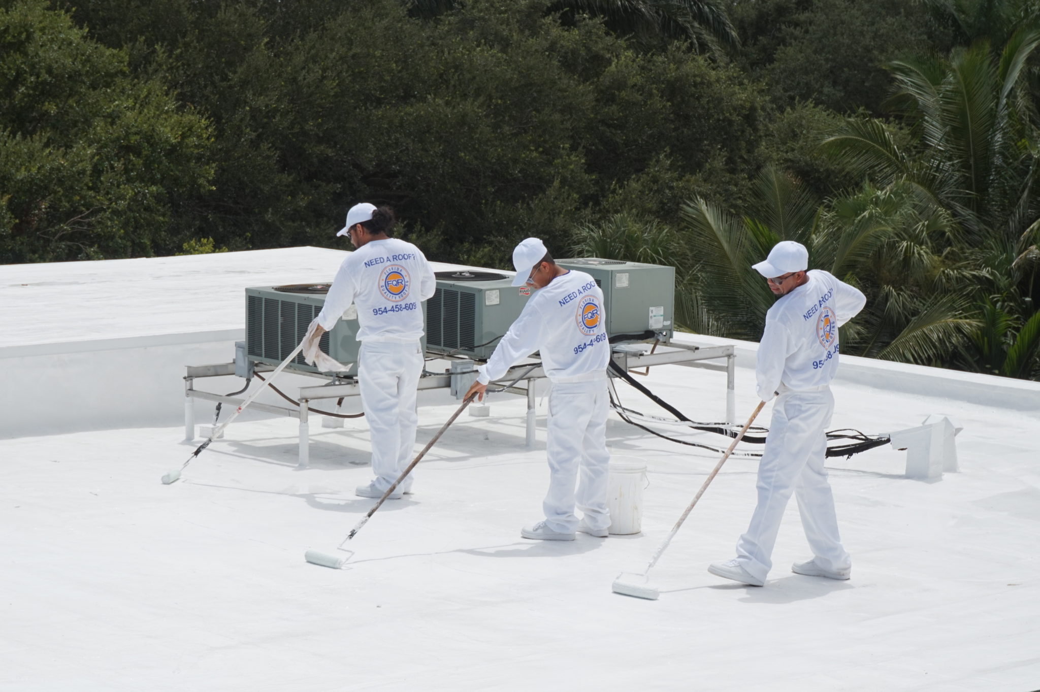 Silicone Commercial Roofing Florida