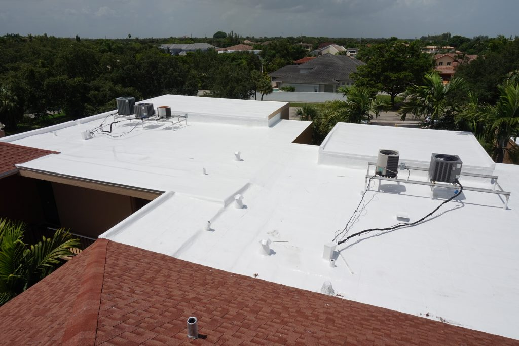 Silicone Roof Coating Restoration - A Case Study 2