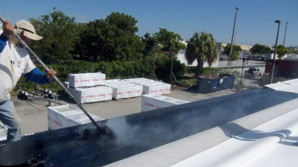 Florida Quality Roofing Industrial Re-roof 2