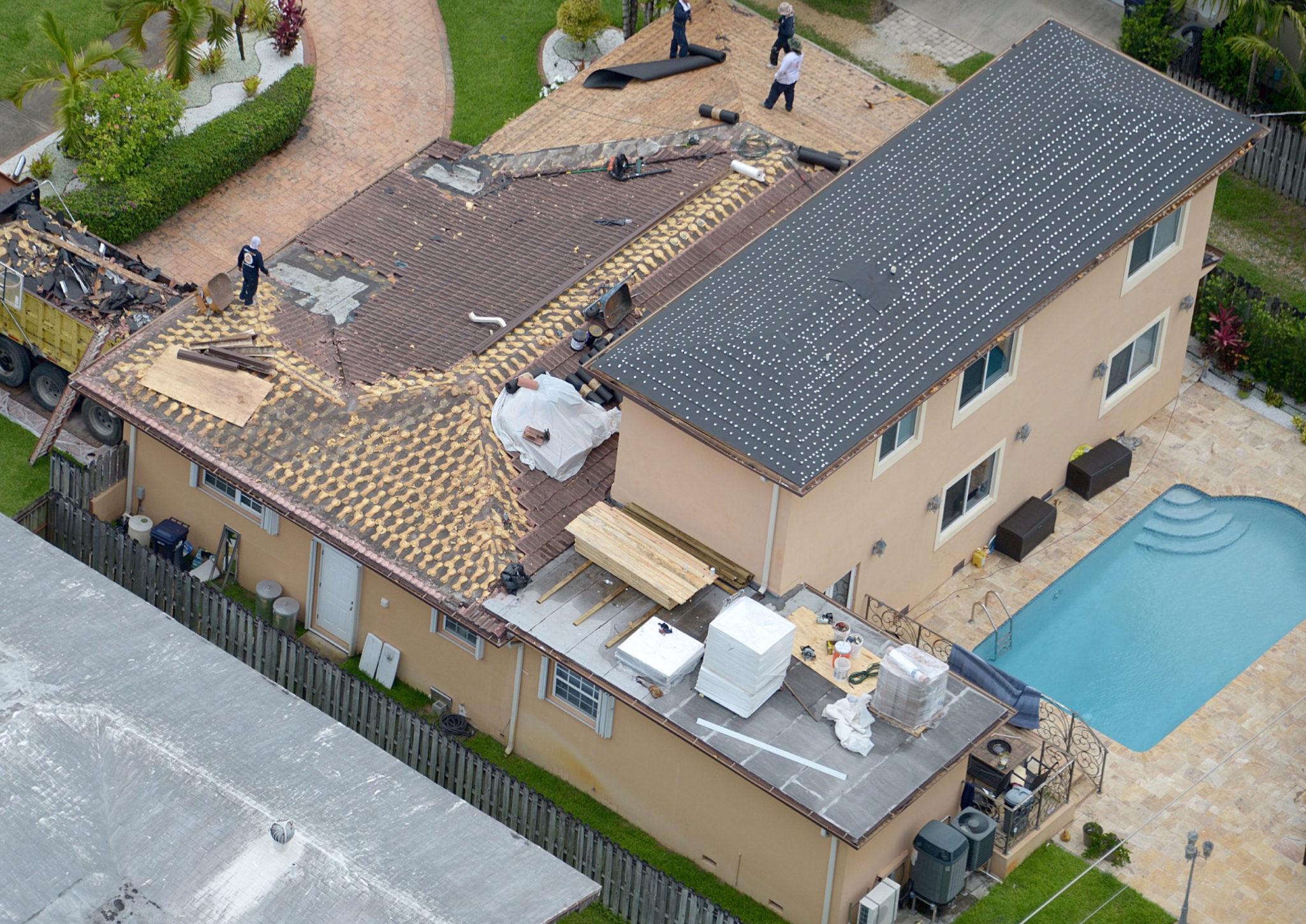 Miami Custom Metal Roof Project 1