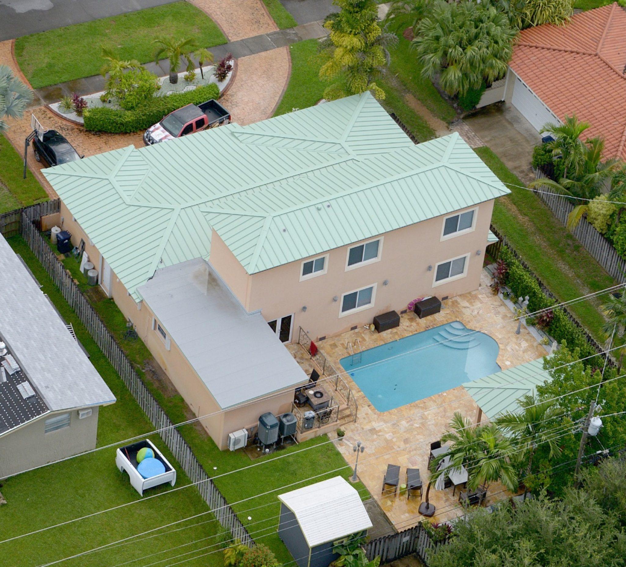 Miami Custom Metal Roof Project 2