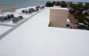 Tampa Bay Condominium Silicone Roof Restoration