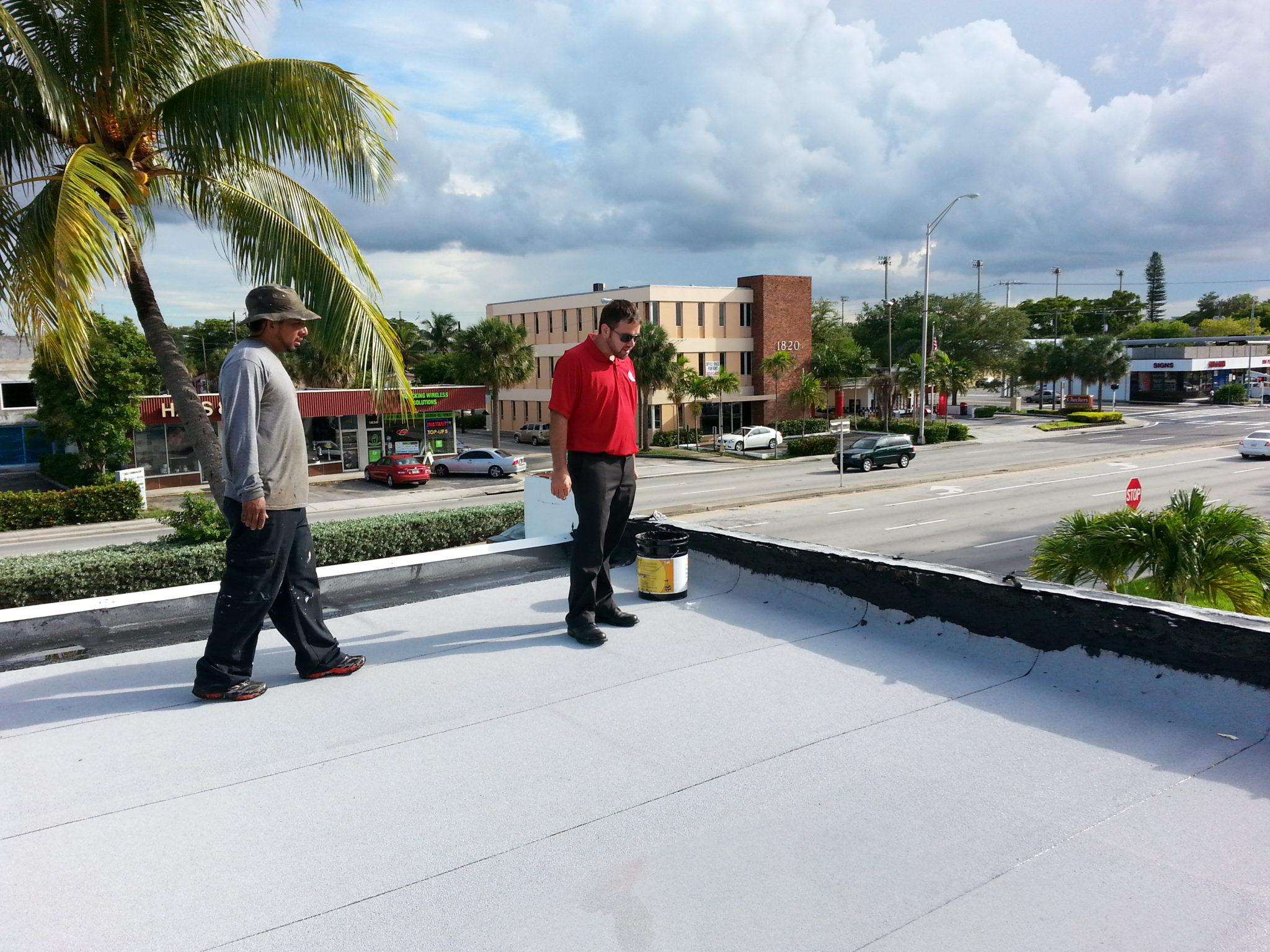 North Miami Commercial Re Roof Florida Quality Roofing