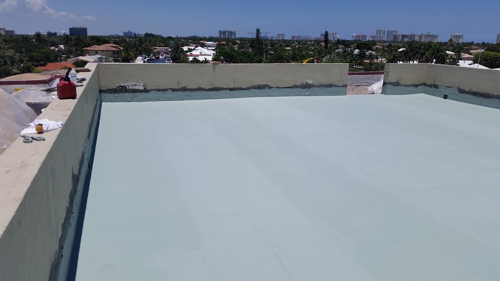 Miami Rooftop Roofing Restoration 2