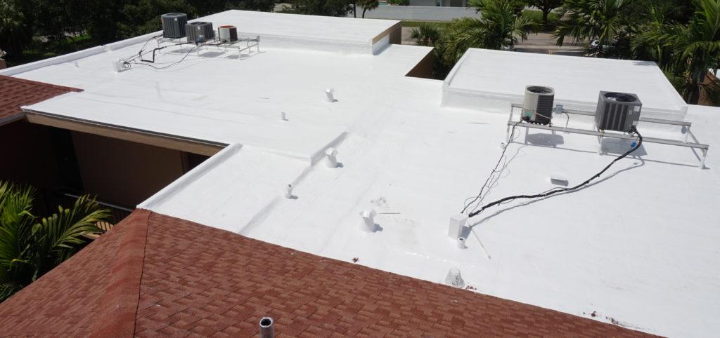 Hollywood Condominium Silicone Roof Coating Restoration 7