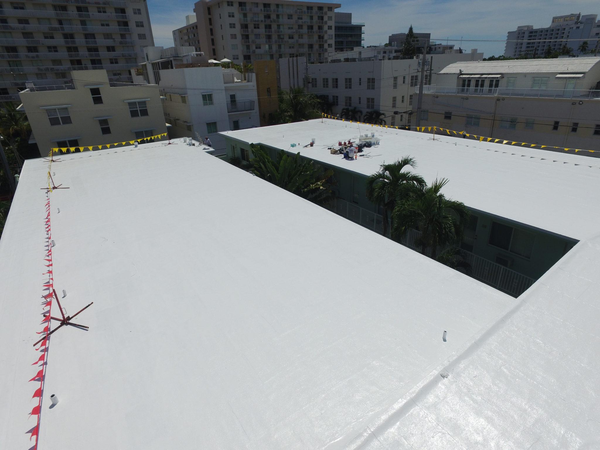 Miami Condominium Silicone Roof Coating 2