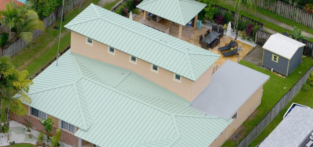 Miami Custom Metal Roof Project 40