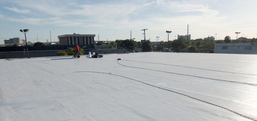 Miami Single-Ply TPO Roof 40