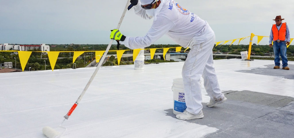 Rolling by the Sea: Florida Condo Silicone Roof Restoration 1