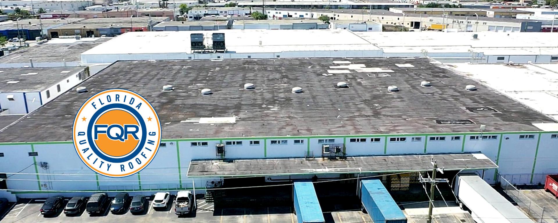 Warehouse Single-Ply TPO Roof 1