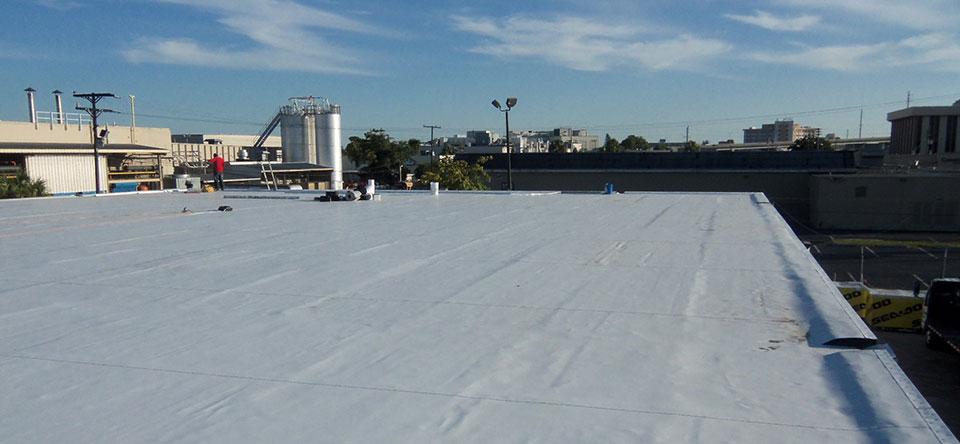 Miami Single-Ply TPO Roof 2