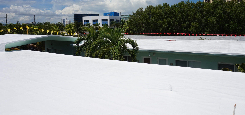 Miami Condominium Silicone Roof Coating